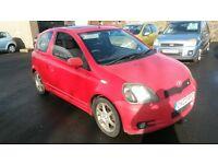bargain 2002 Toyota YARIS T sport long mot cheaper px welcome £495