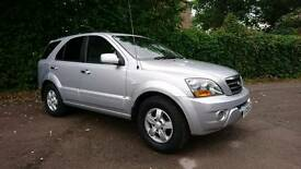 2008/08 kia Sorrento Xs 2.5 crdi. New MOT upon sale and just serviced. 4 x new tyres.