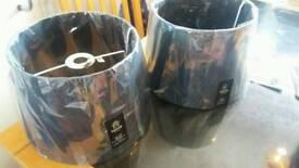 2 brand new lampshades