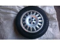 Rover 75 tyres