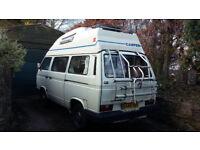 VW T25 Campervan Petrol/LPG High Top Autohomes Conversion