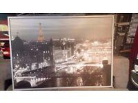 VILSHULT IKEA Canvas/ art / Paris/ France / Iffel Tower 140cm x 100cm
