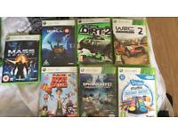 7 XBOX 360 Games For Sale £4 Each