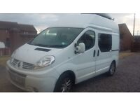 Renault Sport High Top Camper Van with drive away awning