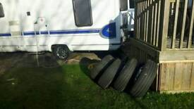 """Fiat ducato 15"""" wheels and tyres & trims"""