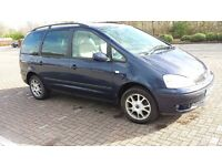 Bargain moving abroad - 7 seater - MOT - views Edi and Glas - Ford Galaxy Zetec