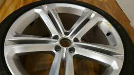 VW Tiguan R line wheel with tyre - Nearly new condition