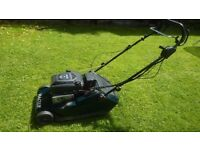 Hayter 48 petrol roller mower with electric start cost £800