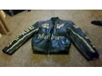 Original Marlborough racing leather jacket