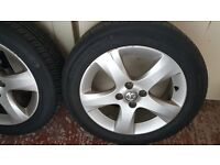 Vauxhall Opel Corsa D 5 spoke 16in alloys