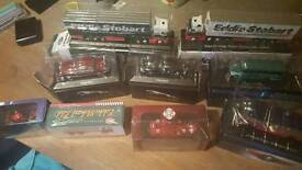 Selection of model cars