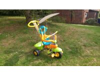 Smart trike in excellent condition with canopy and parent handle North Finchley