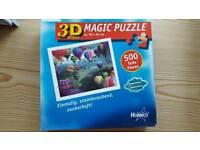 3D magic puzzle