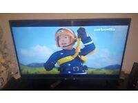 "LG 49"" LED TV WITH HD FREEVIEW"
