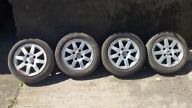 FOR SALE FORD KA 14Inch Alloy Wheels and Tyres