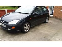 Ford focus 3 door 250 ono 1.8 spares repares runs drives with mot