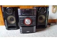 High powered custom Hifi System, Sony subwoofer with Panasonic 200w speakers