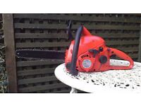 Makita dolmar 45cc chainsaw in excellent condition