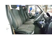 Renault Master 2010- Front Seats including Base for Double Passenger Seat