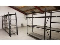 Industrial long span racking and shelving