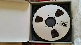 """Quantegy 456 reel to reel tape 1"""". 4 available!"""