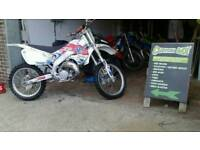 Honda CR 125 1999. 1000 takes it today