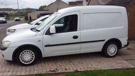 Vauxhall combo 1.7 dti swap for bigger van