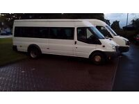 17 seater Minibus Ford Transit 2010 A-C air-con