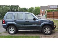Jeep Cherokee 2.5 crd , 4x4, limited edition