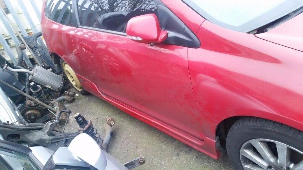 HONDA CIVIC TYPE R EP2 EP3 DRIVERS DOOR IN MILANO RED