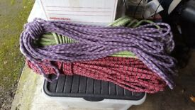3x 50m ex-climbing rope