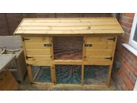 Large outdoor rabbit/guinea pig hutch