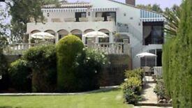 Villa Estepona Spain 4 Bed 4 bath for rent / sale