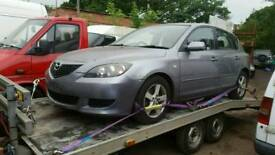 Mazda 3 1.6 diesel 2004 reg breaking for parts