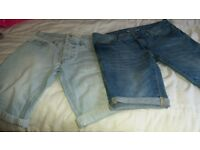 2 pairs mens shorts