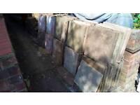 75 x 45cm paving slabs free