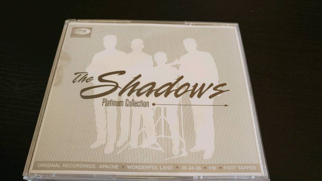 THE SHADOWS. THE PLATINUM COLLECTION 2 CDS + DVD BOX SET