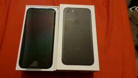 Iphone 7 32gb matt Black unlocked Brand new mobile phone