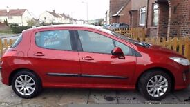 Peugeot 308 very clean and low mileage