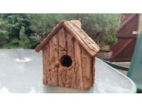 Bird houses wooden Unique unused x3