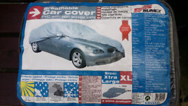 EXTRA LARGE BREATHABLE /WATERPROOF CAR COVER – 530 LONG BY 175 WIDE – FOR LARGE / ESTATE CARS