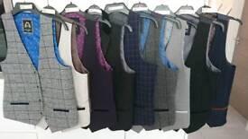 5 Men's Marc Darcy waistcoats - excellent condition - 38R
