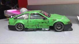 Mst fxxd ifs rc drift car (rc omg etc) ae86 drift