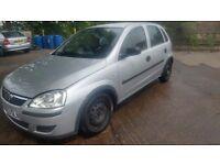2003 Vauxhall Corsa 1.2 petrol in good condition & MOT