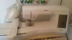 Brother embroidery machine v3