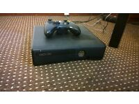 xbox 360, all in working order 250gb