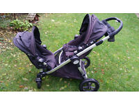 Baby Jogger City Select pram and pushchair for twins, two or one- all you need from birth to 4 years