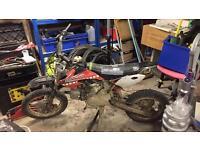 125cc pit bike / motor bike