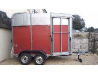 Ifor Williams 505 horsebox trailer