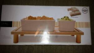Ceramic Bowls With Stand Brand New In Box For Sale Melbourne CBD Melbourne City Preview